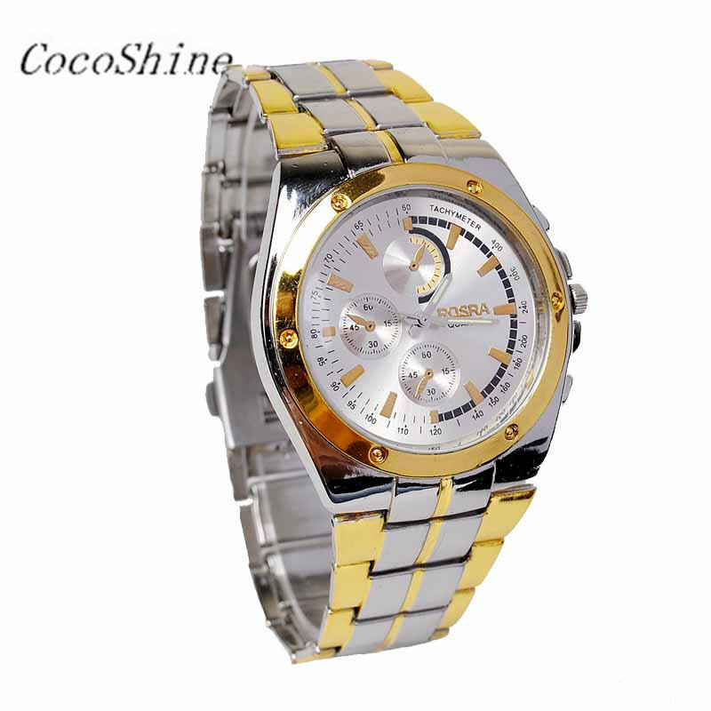 CocoShine A-787  Fashion Classic Men Stainless Steel Sport Quartz Wrist Watches Big Dial Watches wholesale Free shipping<br><br>Aliexpress
