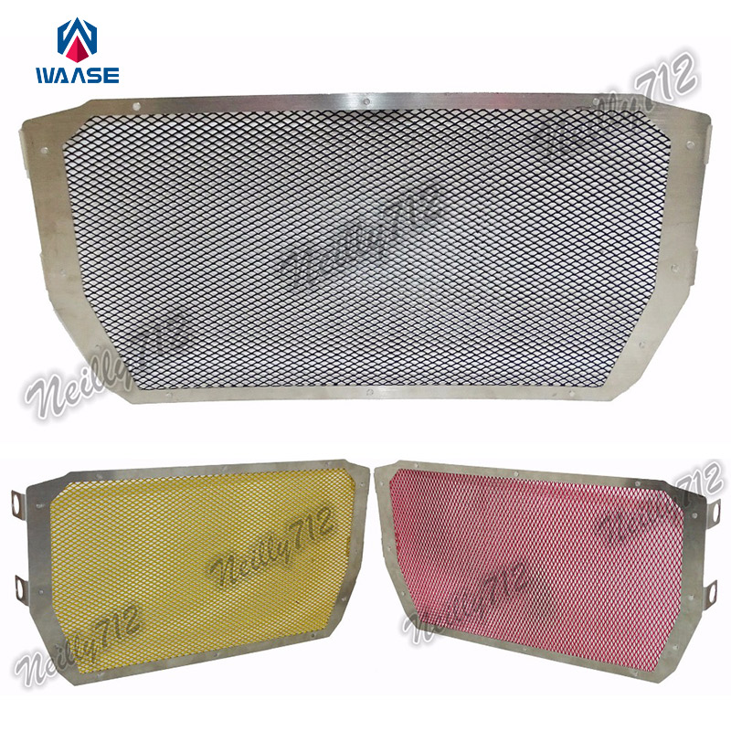 Motorcycle Radiator Protective Cover Grill Guard Grille Protector For Ducati Monster 821 1200 1200S 1200R 2014 2015 2016<br>