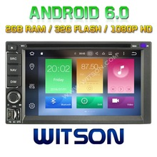 WITSON Octa-Core(Eight Core) Android 6.0 For DOUBLE DIN CAR DVD GPS Universal Double Din 2G ROM 1080P TOUCH SCREEN 32GB Rom
