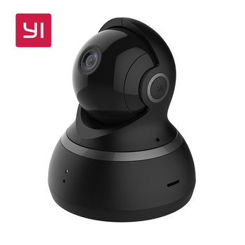 YI Dome Camera 1080P Pan/Tilt/Zoom Wireless IP Security Surveillance System Complete 360 Degree Coverage Night Vision EU