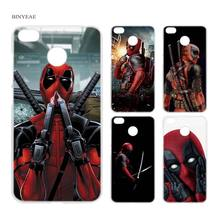 BINYEAE Hero Deadpool Clear Case Cover Shell for Xiaomi Redmi Note MI A1 4X 5 5A 4 4A 3 Plus 5X(China)