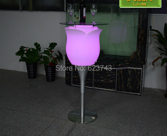 LED Big Rose Floor Lamp-slong light (6)