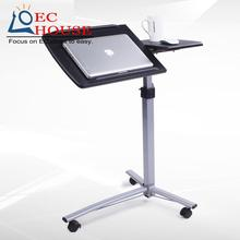 Burke Knott standing notebook comter bed desk bedside mobile lifting rotary lazy table FREE SHIPPING
