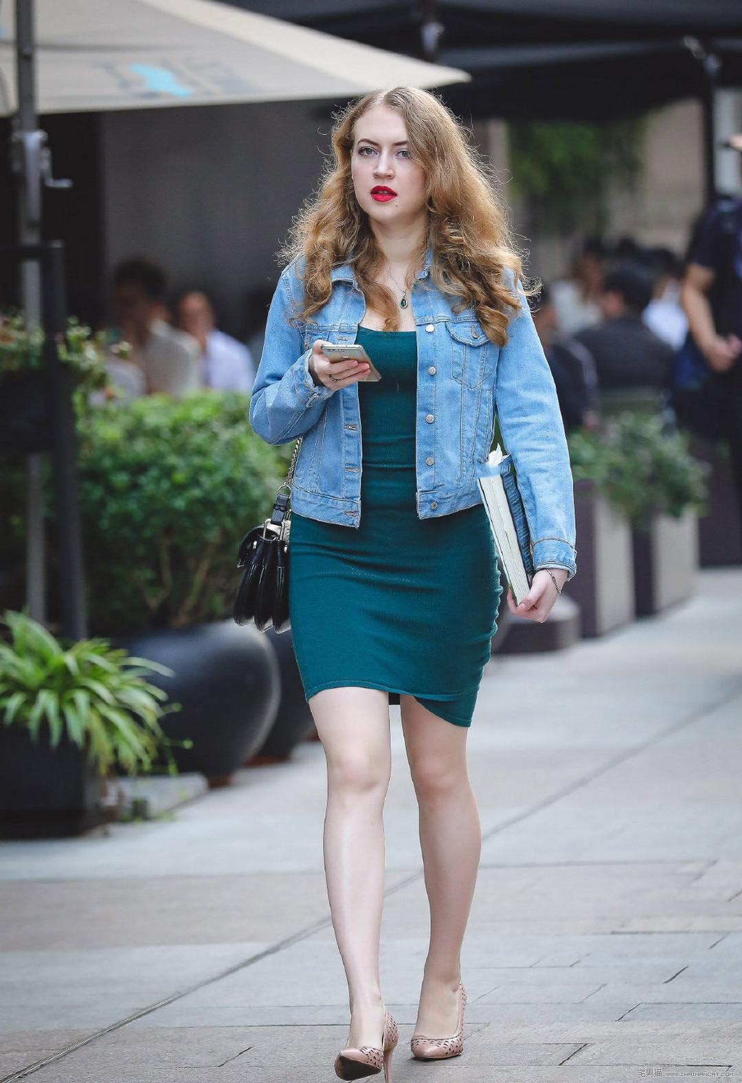 街拍:OL熟女韵味