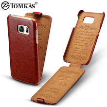Leather Case For Samsung Galaxy S6 G9200 Retro Phone Bag Flip Cover For Samsung Galaxy S6 Edge Cases Coque Brand TOMKAS New 2017