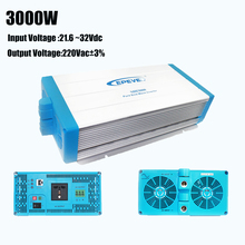 EPever Pure Sine Wave Inverter 3000w 24V Input 220V Output Voltage SHI-3000W-24V Off Grid 3000 Watt Pure Sine Wave Inverter(China)
