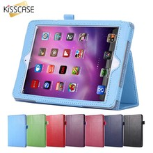 KISSCASE Luxury Book Flip Leather Case For Apple iPad 2 3 4 Tablet Notebook Stand Holder Sleeve Cover For iPad2 3 4 Magnetic Bag