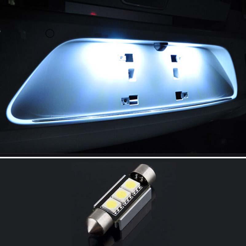 1pcs Dome Festoon 3SMD 5050 Error free License Number Plate Light For Mercedes-benz W208 W209 W203 W169 W210 W211 W212 AMG CLK<br><br>Aliexpress