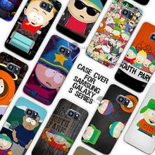 South Park Character Clear Case Cover Coque Shell for Samsung Galaxy S3 S4 S5 Mini S6 S7 Edge Plus(China)