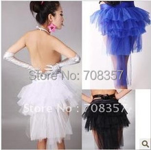 The New Nobody Pub Clubbing Sexy Costumes Dovetail Gauze Women's Performance Clothing Fashion Tutu Trailing Tail Yarn(China)