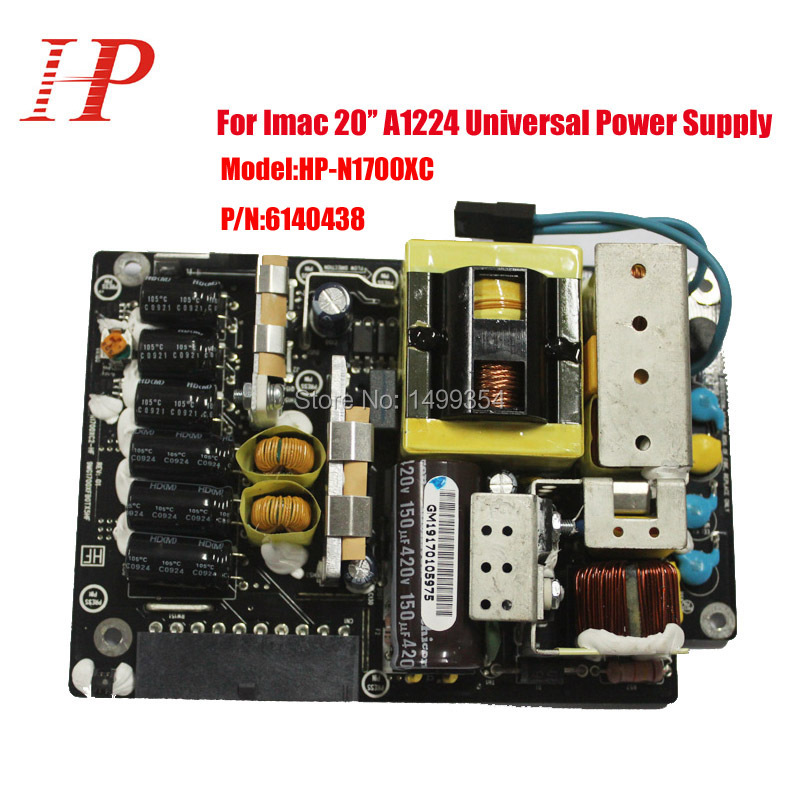 100% Tested Genuine For Apple Imac 20'' A1224 Power Source Power Supplies HP-1700XPC 614-0438 180W(China)