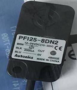 Free Shipping 2pcs/lot New Switch PFI25-8DN2 three wire normally closed PFI25-8DP2 inductive switch<br><br>Aliexpress