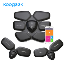 Koogeek Smart Fitness Gear EMS abdominal Exerciser Household abdominal muscles Intensive Training Electric Slimming Massager