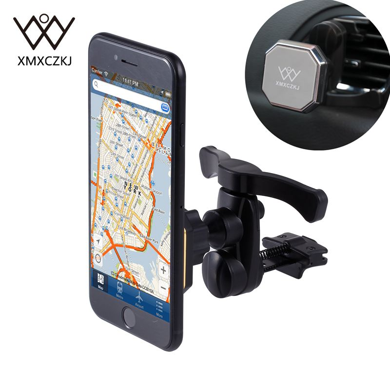 Car Air Vent Phone Holder GPS Bracket for iPhone 6//7//8//Plus//X Samsung Universal