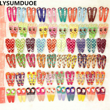 LYSUMDUOE Gift Fashion Kids Hair Accessories Cat Clips Girls Barrettes Cartoon Resin Hairpins Hello Kitty Hairpin BB Barrette