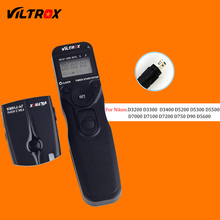 Viltrox JY-710-N3 Wireless Camera LCD Timer Remote Control Shutter Release for Nikon D90 D3200 D3400 D5200 D5500 D7200 DSLR(China)