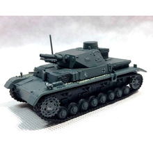 Amer World War II Germany 1941 IV Tank 4 E 1/72 Scale Diecast Finished Alloy Model Toy For Collect Gift