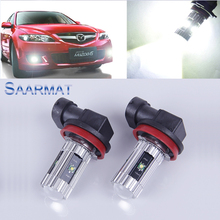 2 x  H11   High Power   w/ CREE CHIPS   25W  Car special front fog lamps LED Fog Lights lamps Bulb    For Mazda speed 3 6 RX8