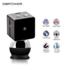 DBPOWER FHD 1080P Mini Camera Wireless Portable Mirco Recorder DVR Bike Online Digital Loop Video Camcorder Endoscope Detect