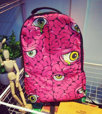 2017 new fashion Harajuku ulzzang 3D Anime aliens backpack preppy style schoolbag men and  women travel shoulder bag<br><br>Aliexpress