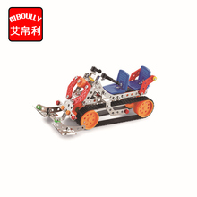 197pcs Sled car Metal Construct Fantastic Model 3D Assembled Recovery Vehicle of Lift Truck Car DIY Toys With Tool(China)