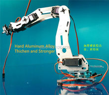 6 DOF Robot Arm A2, full metal,high torque servo/ robot parts for DIY, industrial robot arm Development,study project