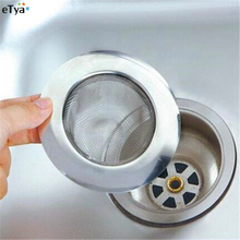 1PC 7.5cm Stainless Steel Sewer Filter Sink Strainer Mesh Floor Drain Kitchen Bath Trough Clean Gadgets Appliances Prevent Clog