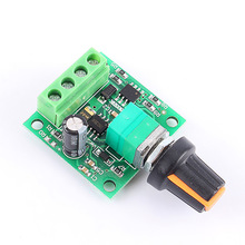 Free Shipping DC New 1.8V 3V 5V 6V 12V 2A Low Voltage Motor Speed Controller PWM 1803B