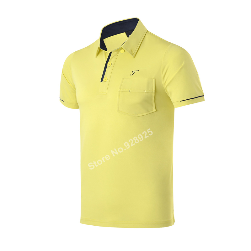 2017 new golf shirts men summer T shirt quick dry functional fabric top quality brand polo shirt polyester garment 5 colors T<br><br>Aliexpress