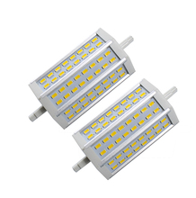 R7S LED Lamp SMD5730 25W 118mm 85-265V LED Light LED R7S 48LEDs Bulb Energy Saving Perfect Replace Halogen Lamp Free Shipping