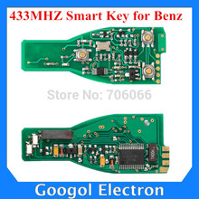 OEM for Mercedes Benz Smart Key 433MHZ(without Key Shell) Car Smart Key for Mercedes Benz Free Shipping