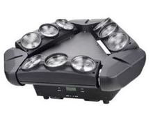 2pcs/lot 9pcs*12W CREE 4 IN 1 led moving head beam spider light with flight case from china wholesale market