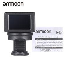 ammoon AT-08 Mini Digital Guitar Tuner Durable LCD Clip-on Tuner for Acoustic Electric Guitar Bass Violin Ukulele Chromatic