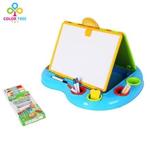 Preschool Toy Drawing Board Kids Writing Board Plastic Paint Pad Doodle Writing Painting(China)