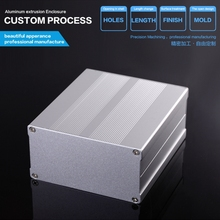 106*55-100 mm (wxhxl) Small Extruded Aluminum Enclosure For Electronic(China)
