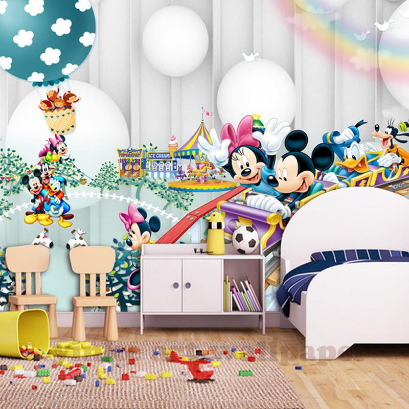 HTB1G0xTh2NNTKJjSspeq6ySwpXak - 3d Cartoon  wallpaper mural children  room non woven 3d wallpaper  for kids room baby bedroom' wall  3D  wall sticker wallpaper
