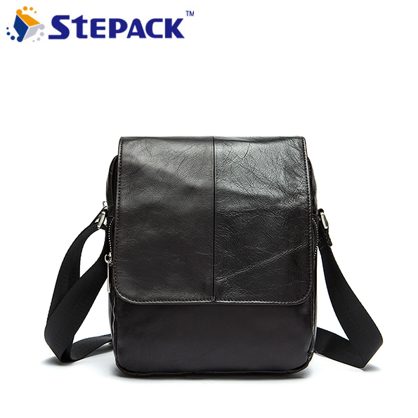 2017 New Brand  Antique Nubuck  Genine Cow Leather Bags Men Messenger Bag Hasp Open Retro Shoulder Bag<br>