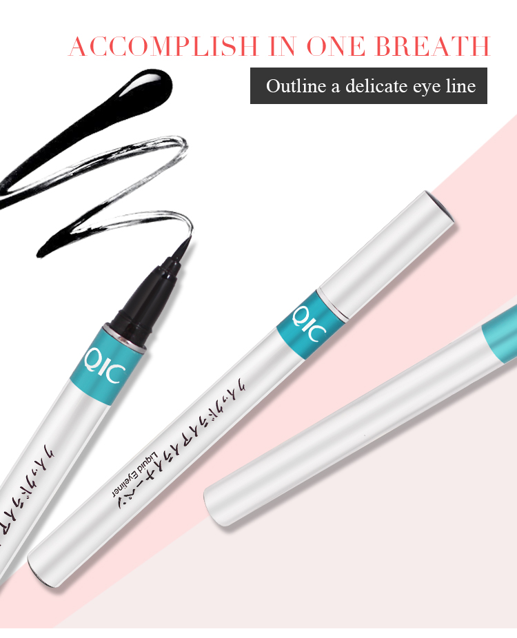 1pc Black Waterproof Liquid Eyeliner | Make Up Beauty Comestics 5