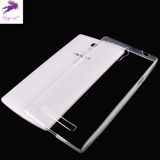 For OPPO Find 7 X9007 case Brand Ultra thin Transparent TPU Soft Protective Back Cover Case for OPPO Find 7 X9007 Phone Case(China (Mainland))