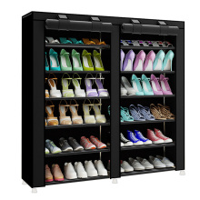 Modern Shoes Organizer Closet Minimalist Fashion Multi-Purpose Non-Woven Creative Double-Row