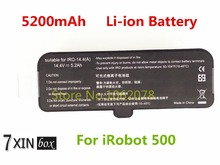 New 14.4V 5200mAh Li-ion Replacement Vacuum Cleaner Battery For iRobot Roomba 500 510 530 540 550 560 610 625 R3 700 760 770 780