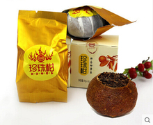 top grade original fragrance orange peel ripe puer tea 28g best Chinese shu puerh cooked tea gift C405