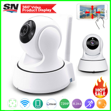 360cam app 720P 960p Security Network CCTV wifi vidicon Wireless 1.0 1.3Megapixel HD Digital Security ip camera IR Night Vision(China)