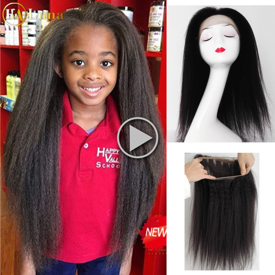 360 Full Lace Frontal Closure With Baby Hair 8A Pre Plucked 360 Lace Frontal Malaysia Kinky Straight Human Hair 360 Lace Closure<br><br>Aliexpress