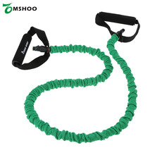 1.2m Pull Rope Elastic Rope Crossfit Set Multifunctional Training Equipment Rubber Resistance Bands Belt(China)