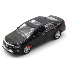Alloy Camry Car Model Scale 1/32 Size 15Cm, Good Quality 4 Color Oprn doors With Light N Music Top Die Cast Model
