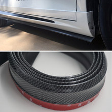 Carbon Fiber Car Front Lip Side Skirt Body Trim Bumper Audi B8 A8 RS5 RS7 A1 A3 A4 A5 A6 A7 A8L Q7 R8 TT Q5 S3 S7 etc - AIRSPEED Official Store store