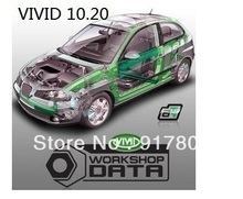 Free shipping  Latest version auto date repair software Vivid Workshop 10.20
