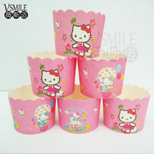50pcs Love Heart Mickey Minnie Mouse cake cups cases paper cake mini baking cup decorative wedding birthday party favors