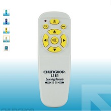 1PCS Chunghop L181 Combinational Universal Remote Controller MINI Learning remote control For TV/SAT/DVD/CBL/DVB-T/AUX copy(China)